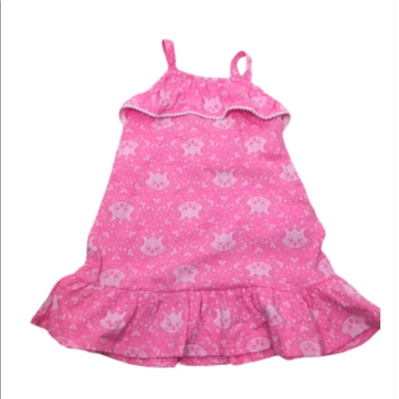 Disney Other - NWT Disney's Aristocats Pink Ruffled Dress - 3T